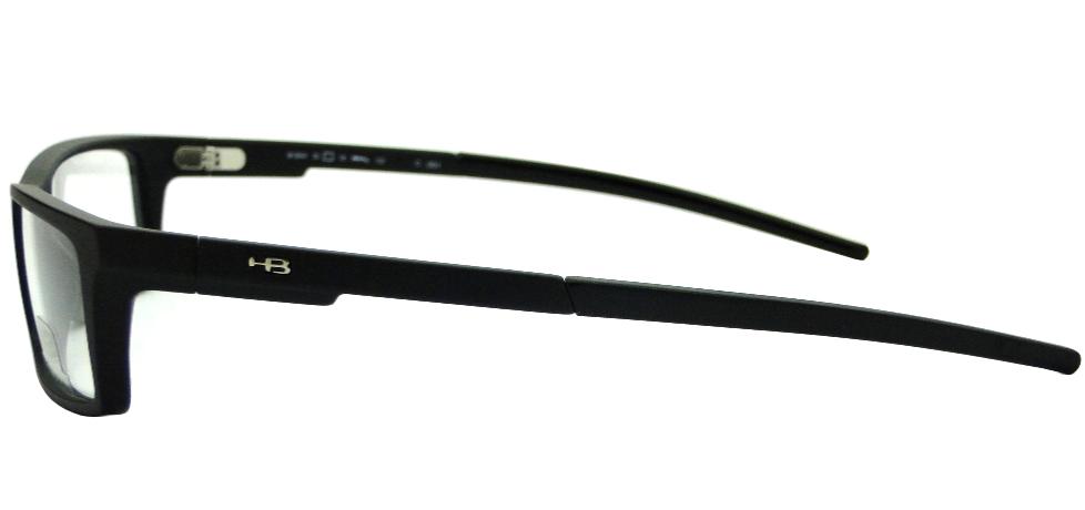 94090d76f06ba HB M.904 MATTE BLACK – ÓCULOS DE GRAU   Ótica Achei Meus Óculos