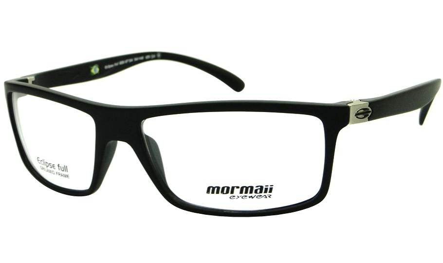 MORMAII ECLIPSE FULL – ÓCULOS DE GRAU   Ótica Achei Meus Óculos 0097078277