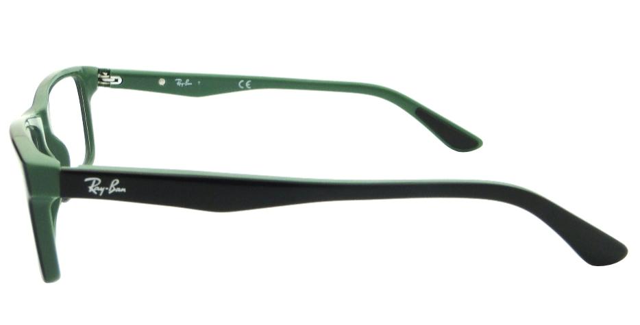 d36eac80a2a89 RAY BAN RB 5288 PRETO VERDE – ÓCULOS DE GRAU   Ótica Achei Meus Óculos