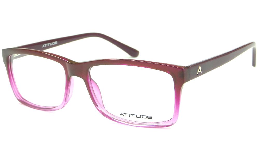 ATITUDE AT 4006 C01 54 – ÓCULOS DE GRAU   Ótica Achei Meus Óculos ea0b4d200e