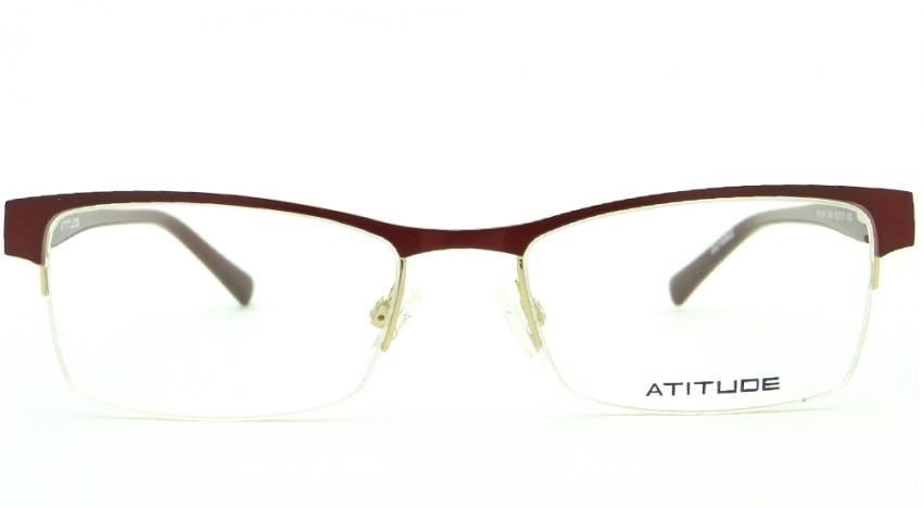 b8e915ad6 ATITUDE AT 1544 04A 52 – ÓCULOS DE GRAU | Ótica Achei Meus Óculos