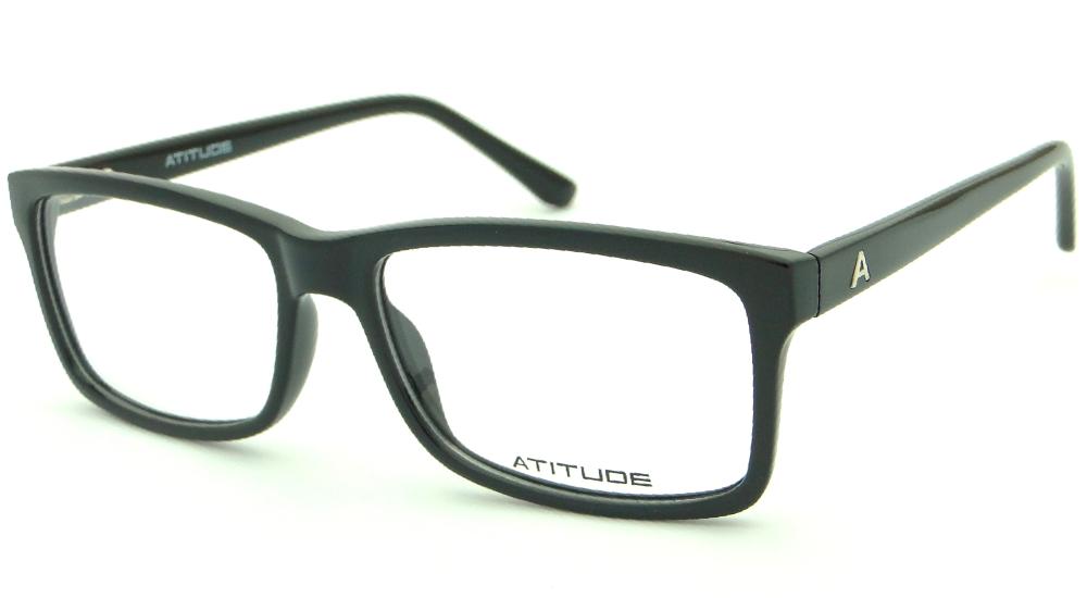 ATITUDE AT 4006 A01 54 – ÓCULOS DE GRAU   Ótica Achei Meus Óculos 2b2f5acb88