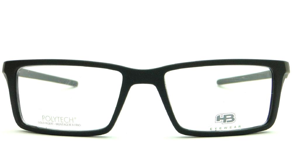 HB POLYTECH M.93016 52 C.001 – ÓCULOS DE GRAU   Ótica Achei Meus Óculos d039379ee7