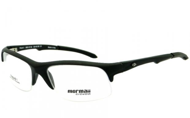 ff3961b1b MORMAII ITAPUÃ 1 PRETO FOSCO – ÓCULOS DE GRAU   Ótica Achei Meus Óculos