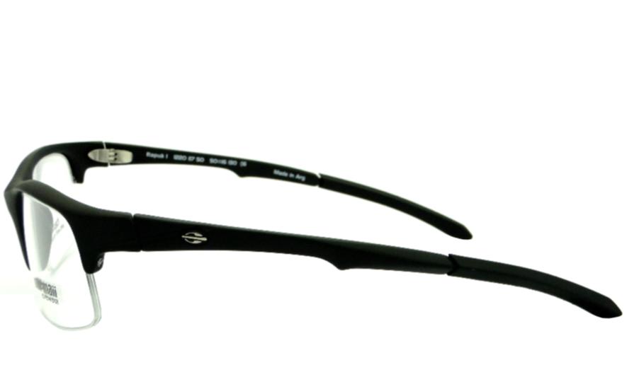 MORMAII ITAPUÃ 1 PRETO FOSCO – ÓCULOS DE GRAU   Ótica Achei Meus Óculos 71fa493382
