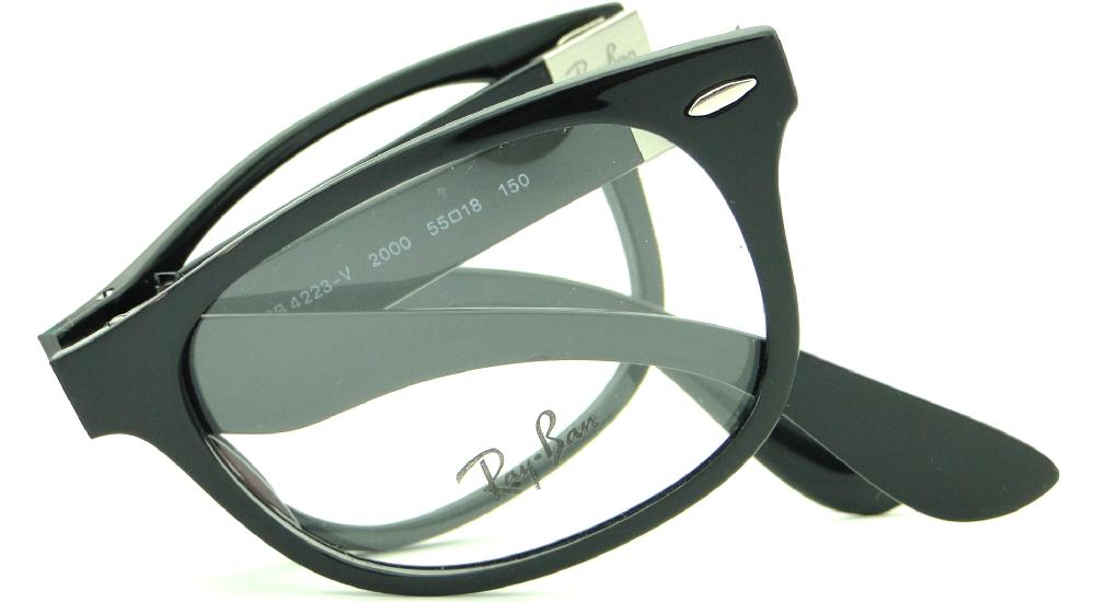 c550550110f35 RAY BAN RB 4223V 2000 DOBRÁVEL – ÓCULOS DE GRAU   Ótica Achei Meus Óculos