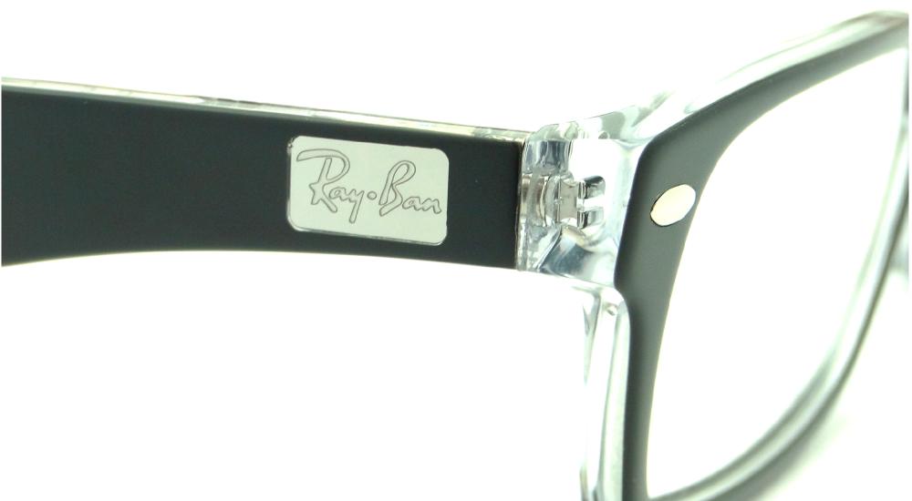 RAY BAN RB 5206 2034 – ÓCULOS DE GRAU   Ótica Achei Meus Óculos 661cd354f8
