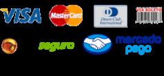 Meios de pagamento: