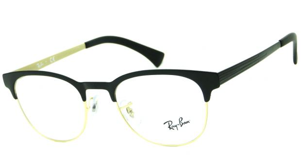 a93c5d31ae010 ... switzerland ray ban clubmaster rb 6317 2833 Óculos de grau Ótica achei  meus Óculos 52248 0a93a