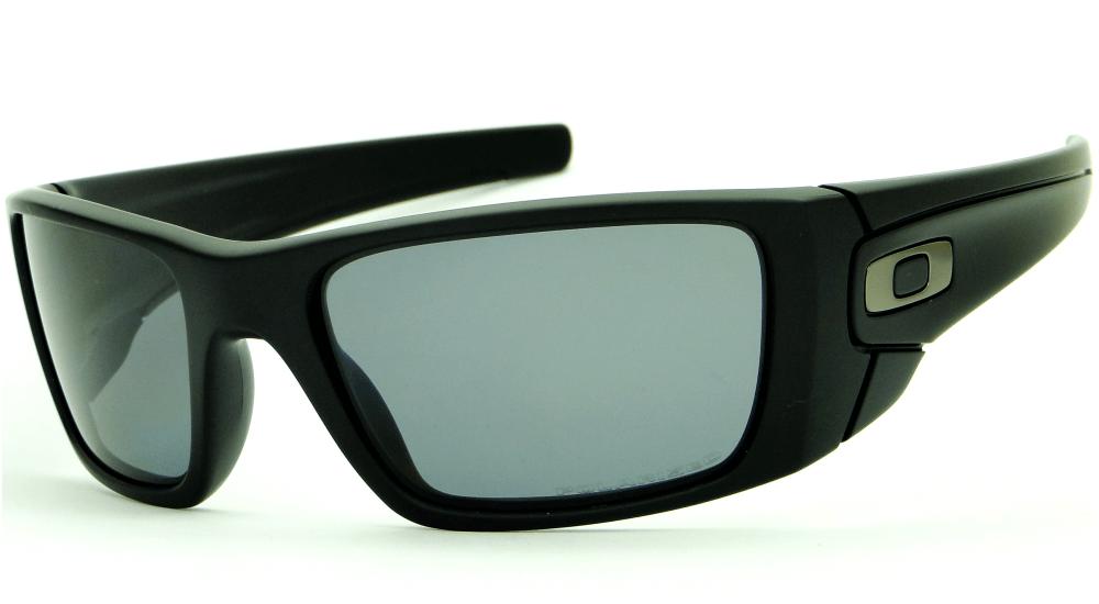 bf7373d00277f OAKLEY FUEL CELL MATTE BLACK   GRAY POLARIZED – ÓCULOS DE SOL   Ótica Achei  Meus Óculos