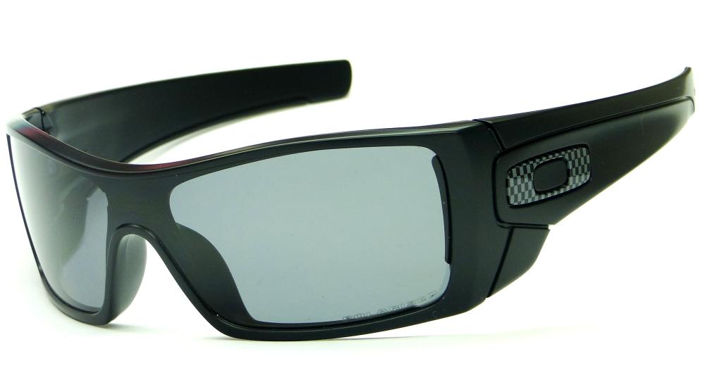 bdfc46a76ed21 OAKLEY BATWOLF MATTE BLACK GREY POLARIZED – ÓCULOS DE SOL   Ótica Achei  Meus Óculos