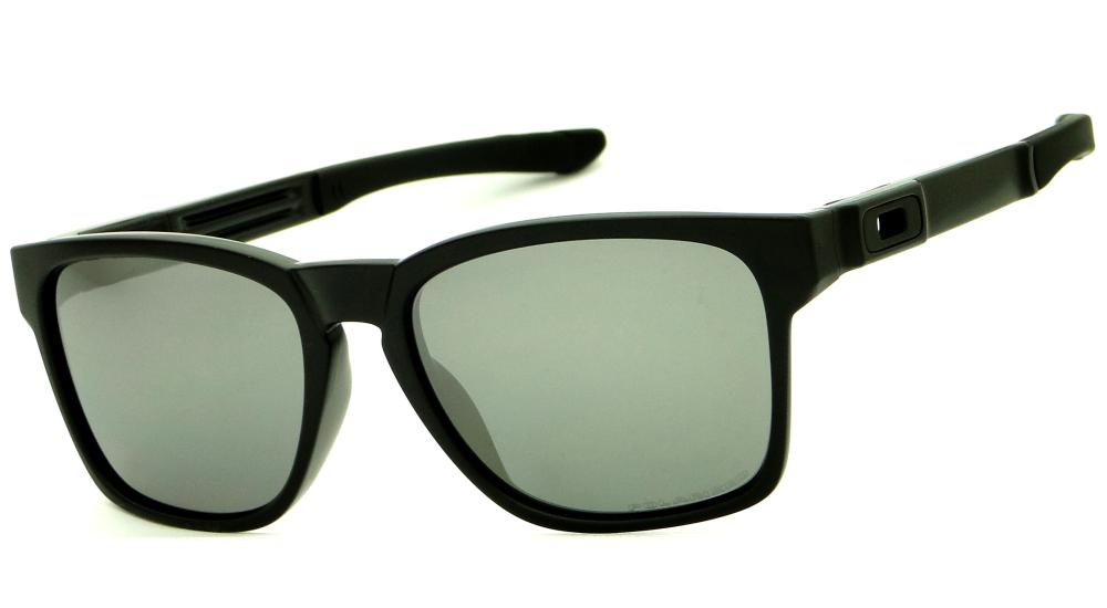 ed16c5b938c5c OAKLEY CATALYST MATTE BLACK BLACK IRIDIUM POLARIZED – ÓCULOS DE SOL   Ótica  Achei Meus Óculos