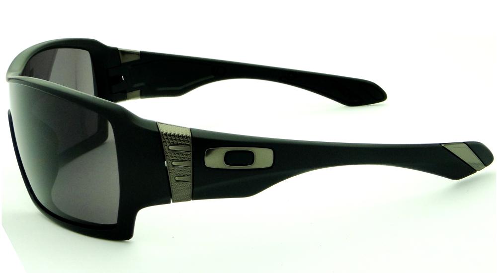 65f2251778df7 Oakley Eyepatch 2 Matte Black Warm Grey   Louisiana Bucket Brigade