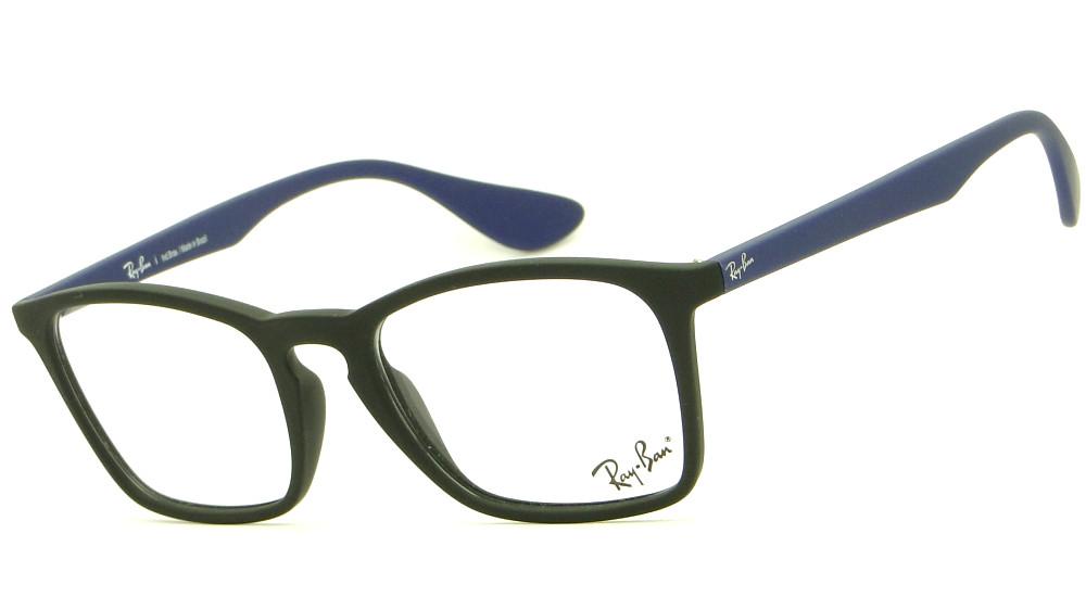 b19ce1d32b267 RAY BAN CHRIS RB 7045L 5663 – ÓCULOS DE GRAU   Ótica Achei Meus Óculos