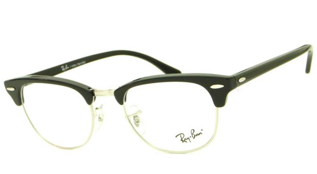 0eec1b9e3509e Culos Ray Ban Pra Gta Sa. RAY BAN CLUBMASTER RB 5154L 2000 – ÓCULOS DE GRAU    Ótica Achei Meus Óculos