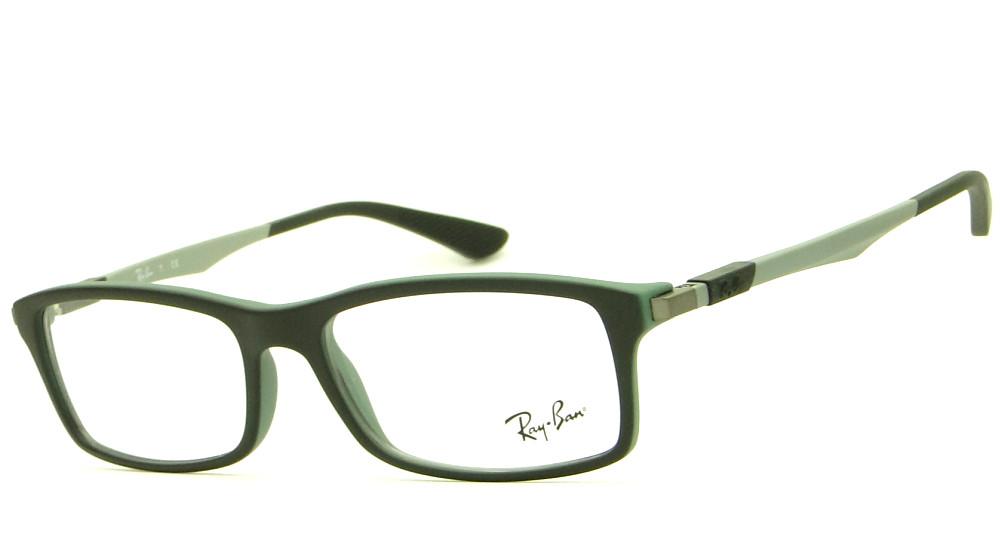 3c147c1098b63 RAY BAN RB 7017 5197 – ÓCULOS DE GRAU   Ótica Achei Meus Óculos