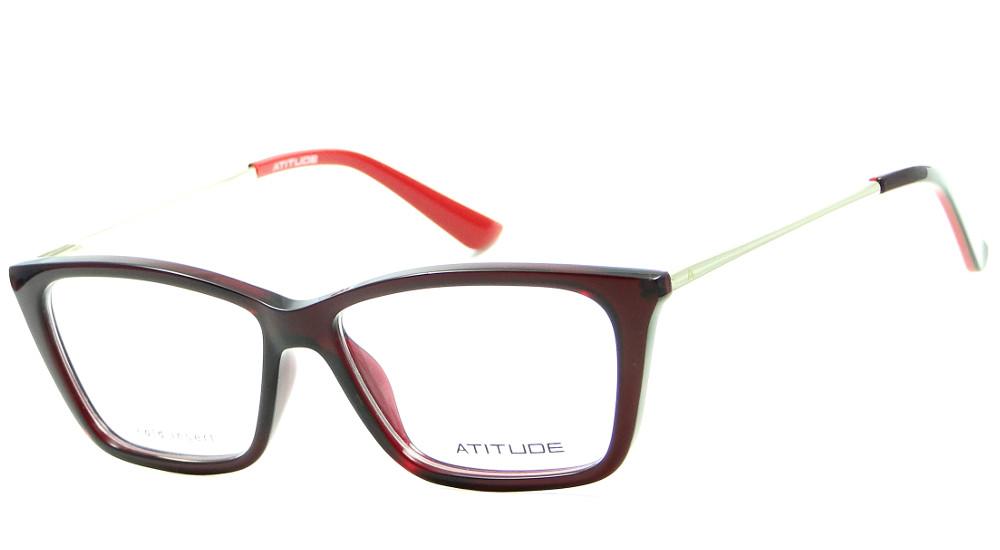 8230aa3a86cad ATITUDE AT 4075 – ÓCULOS DE GRAU   Ótica Achei Meus Óculos