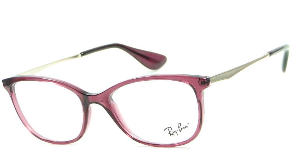 0fadbb13dd60b RAY BAN RB 7106L 8000 – ÓCULOS DE GRAU   Ótica Achei Meus Óculos